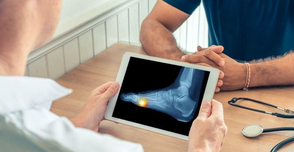 zapato post quirúrgico